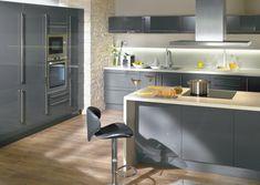 1000 images about projet cuisine on pinterest grey - Cuisine grise conforama ...