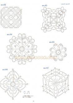 ISSUU - Ondori motif and edging designs by Crowe Berry