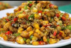 Ever thought, how to make corn fry? Well, here's a crispy corn recipe just for you. This corn fry is a simple yet delicious evening snack that can be served as a appetizer for any party. Veg Appetizers, Indian Appetizers, Indian Snacks, Savory Snacks, Healthy Snacks, Appetisers, Appetizer Recipes, Veg Recipes, Indian Food Recipes