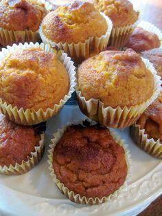 Easy Cinnamon Pumpkin Cake Muffins | Moore or Less Cooking Food Blog
