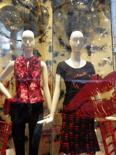 Tommy Bahama store window Michigan Ave Chicago, IL 12-5-13
