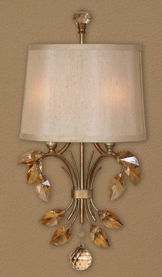"STAIRCASE/BUTLER's: Uttermost Alenya 2Lt Wall Sconce #22487 (22""H x 12""W x 4""D)"