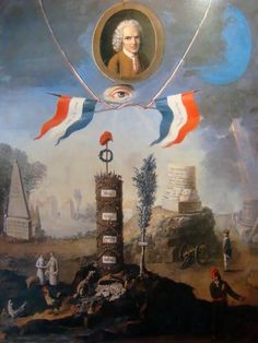 Musee Carnavalet, French Revolution, Painting, The Republic, Revolutionaries, Art Reproductions, Summary, Fine Art Prints, Paris