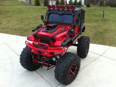 Kids Jeep i would live my kid to have this Jeep Cars, Jeep 4x4, Jeep Truck, Custom Power Wheels, Kids Jeep, Cool Jeeps, Off Road, Kids Ride On, Lifted Trucks