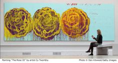cy-twombly the rose 2008