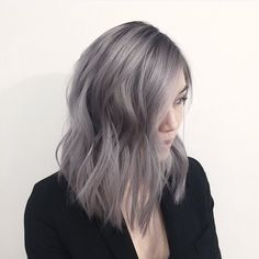From black virgin hair to a rooty grey #hair #color #haircolor #grey #greyhair by #mizzchoi cut by @anhcotran @ramireztransalon #ramireztran #ramireztransalon