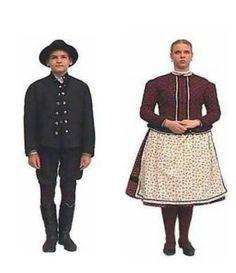 A szatmári  magyar női viselet jellegzetessége az apróvirágos hímzés - Erdély
