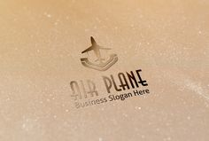 Check out Air Plane Style Logo by BDThemes Ltd on Creative Market