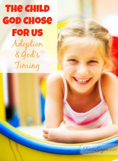 The adoption process is a hard and looooong wait. But God's timing is always perfect. We just need to be willing to trust Him, wait, and be open to the children He has planned for our families.
