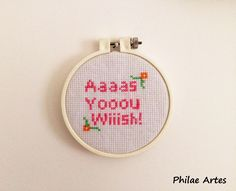The Princess Bride, A Princesa Prometida, movie, filme, ponto cruz, cross stitch, by Philae Artes
