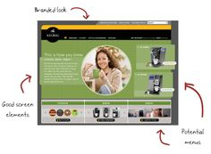Keurig Case Study    demo: http://elearning-examples.s3.amazonaws.com/keurig/player.html    blog post: http://www.articulate.com/rapid-elearning/how-to-design-an-elearning-course-on-a-budget/