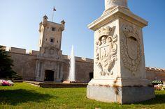 Puertas de Tierra de Cádiz, cara sur