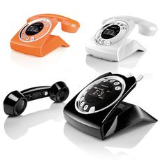 Ooooo...!  These cordless 'phones are really neat!  Might have to get me one!  (Orange?...blech!! Wish they had it in brick red!)