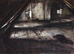 Andrew Wyeth, THE ATTIC