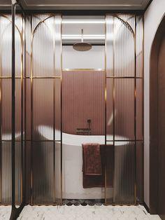 Color apartment in Saint Petersburg - Dezign Ark (Beta) Color apartment in Saint Petersburg - Dezign Ark (Beta) Cute Home Decor, Home Decor Signs, Unique Home Decor, Cheap Home Decor, Interiores Art Deco, Interiores Design, Bathroom Inspiration, Interior Inspiration, Art Deco Bathroom