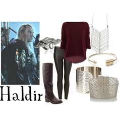 "Lord of the Rings/ The Hobbit-  ""Haldir"" by companionclothes on Polyvore"
