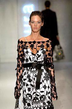 Patrones Crochet: Vestidos