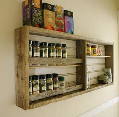 repurposed wood ideas | Reclaimed Wood Shelve | Shelves ideas