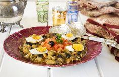 Ensalada Marroquí de berenjenas - La Cocina de Frabisa La Cocina de Frabisa Eggplant Salad, Arabic Food, International Recipes, Paella, Cobb Salad, Salads, Food And Drink, Cooking Recipes, Keto