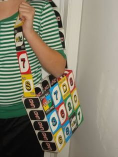 Room Mom 101: Backpack Made From Uno Cards