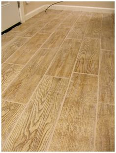 Light Wood Look Tile