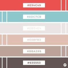 Emily Peterson Studio offers high quality clip art, digital papers & much more! Flat Color Palette, Colour Pallette, Color Blending, Colour Schemes, Couleur Hexadecimal, Ui Color, Pastel Designs, Color Picker, Color Psychology