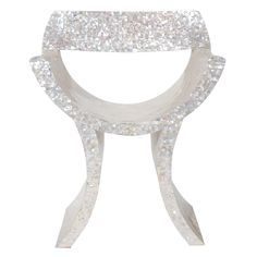 mother of pearl arm chair.  pretty sure I would have a better day if it started with primping in this beauty.