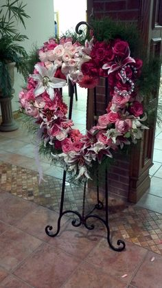 Funeral flowers for an Angel