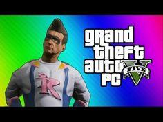 GTA 5 Heists #3 - Trevor's Birthday Party! (GTA 5 PC Online Funny Moments) - YouTube