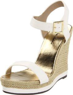 Michael Antonio Women's Goldy-Rep Wedge Sandal for $49.00