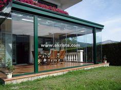 cerramientos de cristal, proyecto realizado por Akrista