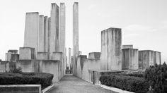 Belgian photographer Jan Kempenaers has documented a series of second world war memorials across Europe