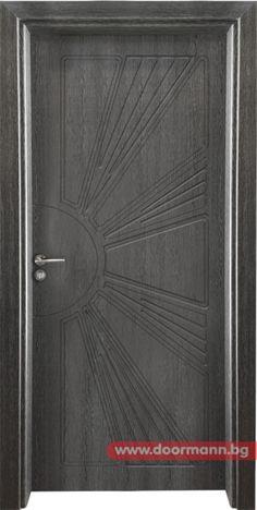 Интериорна врата Gama 204p, цвят Сив кестен