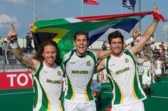 SA Men's Hockey Team - Road to London 2012 Olympic Games Field Hockey, World Of Sports, Hockey Teams, Olympic Games, Olympics, South Africa, African, London, Happiness