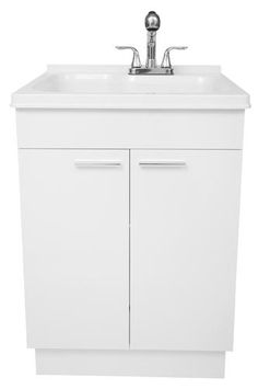 Around $250 - Exquisite Utility Sink And Cabinet Kit (040 7712CP ...