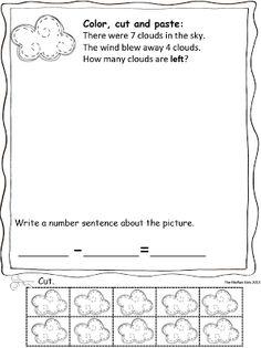 Spring Math Word Problems!