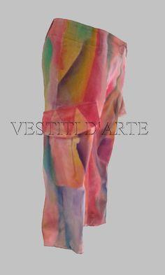 UNISEX CLOTHING PANTS and capris s/m harem pants by Vestitidarte