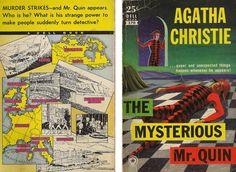 The Mysterious Mr. Quin - Agatha Christie. Cover art - Robert Jonas.