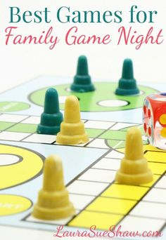 Having a family game night is such a fun way to spend quality time together! Find some ideas in this list of our favorite games!