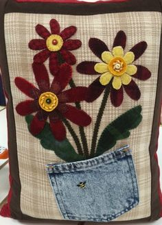 Wool pillow by Karen