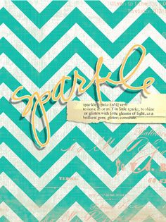 Free Sparkle {iPhone Wallpaper} from Heidi Swapp