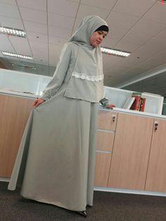 #green dress syar'i