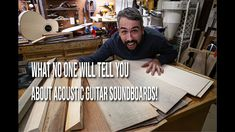 What no one will tell you about acoustic guitar soundboards! - YouTube Acoustic Guitar, The Creator, Youtube, Acoustic Guitars, Youtubers, Youtube Movies