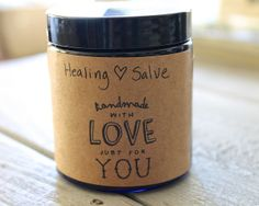 How to Make a Skin Healing Salve | TheDabblist