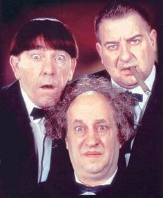 Moe, Larry and Curly Joe   In 1958 Curly Joe joined the Stooges after Joe Besser quit the team. They embarked on a series of films and animated cartoons throughout the 1960's. In 1970  Larry suffered  debilitating stroke. In 1975 both Larry and Moe passed away, Larry of a stroke and Moe of lung cancer. As a result Curly Joe retired in 1975.