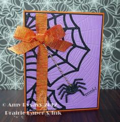 Card #9 from my 2012 Halloween Card Series by AmyR of Prairie Paper & Ink