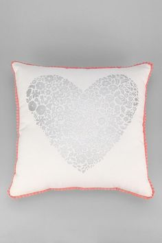 Plum & Bow Sweetheart Pillow #urbanoutfitters