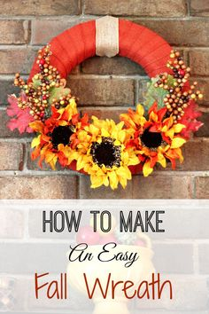 I am about to show you how to make an easy fall wreath in no time flat. Oh, and yes, it is made with burlap ribbon and a Styrofoam base! If you have been following my blog, you know this has been the year of the burlap ribbon. It's been my theme to use the ribbon to wrap around the base and create a wreath for the door or over my fireplace. It is so quick and easy. I have to say, this wreath is my favorite so far!