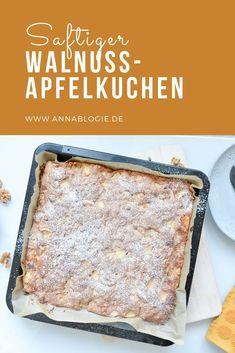 Juicy walnut apple pie – Desserts World Easy Easter Desserts, Unique Desserts, Easy Desserts, Easter Recipes, Dessert Simple, Tupperware, Healthy Dessert Recipes, Cookie Recipes, Desserts Drawing
