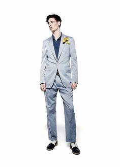 The Style Examiner: Alexander McQueen Menswear Spring/Summer 2013